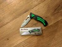 black and green folding knife Candler, 28715