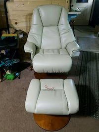 reclining  chair and ottoman new in feb  McConnell, 61050