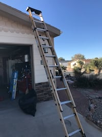 Do you DeWalt 20 foot extension ladder