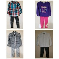3t girls clothes $2 each piece or take all $85 (90 pieces) Calgary, T3L 3C5