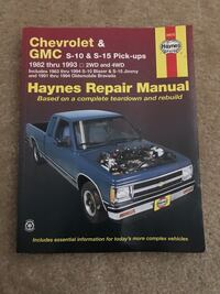 Chevy & GMC 1982 - 1993 Haynes Repair Manual Falls Church, 22046