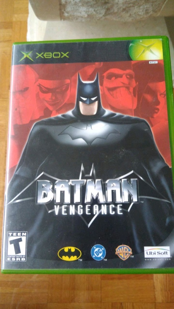 Xbox game BATMAN vengernce original