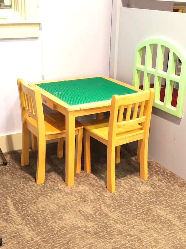 Sold Kids Lego Table Convertible In