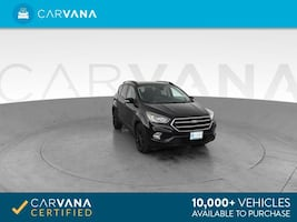 2017 Ford Escape suv Titanium Sport Utility 4D Black