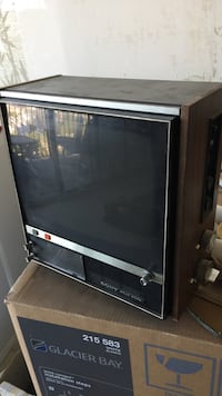 black and brown CRT TV Alexandria, 22304