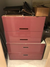 Two Filing Cabinets SEATTLE