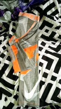 gray and Orange Nike pro compression leggings Cottondale, 35453