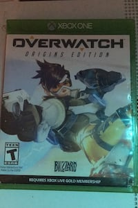 Over watch Xbox game Acushnet, 02743