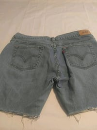 women's gray denim shorts Pico Rivera, 90660