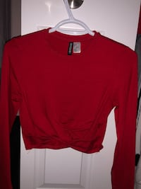 Red long sleeve from h&m, size small Kitchener, N2R 1W9