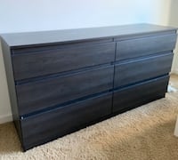 IKEA 6 drawer dresser
