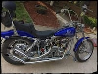 1986 Harley Davidson Costom, engine 1 Year Old , 1200 cc.