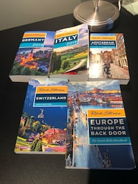 Rick Steves Europe travel books