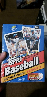 Factory sealed 1993 tops series 1 cards Murfreesboro, 37129