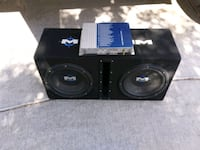 black Pioneer subwoofer with enclosure Las Vegas, 89130