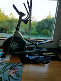 black and gray stationary bike Seattle, 98118