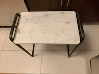 West Elm marble side table Jersey City, 07302