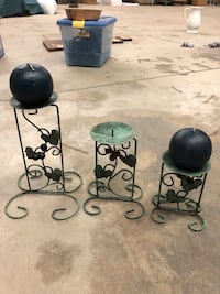 3 candle holders great for the kitchen  Mooresville, 28117