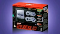 gray and purple Nintendo SNES box Winnipeg, R2W 2J7