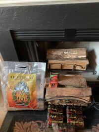 Fire wood and Starter Loggs