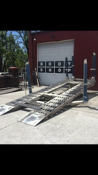 Five post heavy duty frame machine with 4 clamps Baltimore