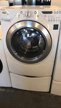 white front-load clothes washer Cincinnati, 45251