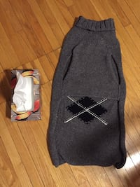 Large dog sweater knitted keeps puppy warm for winter Toronto, M3J 2B8