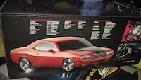 Highway 61 dodge challlenger concept car scale 1/18 Bakersfield