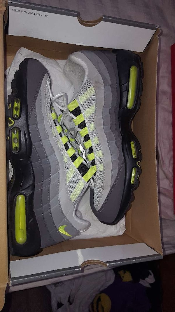 Used Nike Air Max 95 Neon Og For Sale In Leesville Letgo