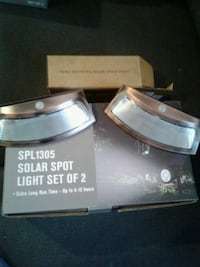 sets of solar lights brand new in the box 269 mi