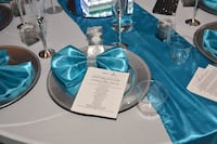 .selling 24 new table runners! Color Caroline blue also selling the napkins, and the table overlay all in the blue. Fort Washington, 20744