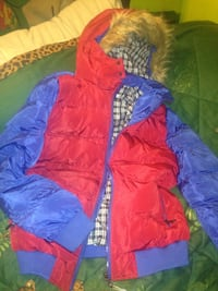 Hooded winter jacket (new with tags)