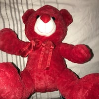 Red Stuffed Bear Palmdale, 93552
