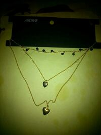 3 necklaces from ardene  London, N5W 2Y8
