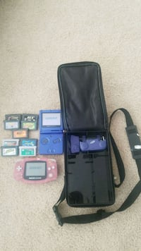 Gameboy SP and Avanced, games case (no charger!) Tecumseh, 49286
