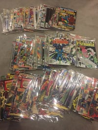 Massive Doctor strange and Strange tales comic collection all rated and catalogued Ottawa, K1H 7K9