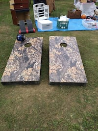 Corn-hole boards and bean bags Guntersville, 35976