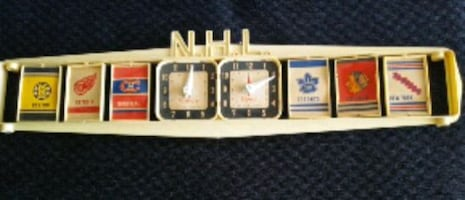 1960'S NHL TABLE TOP HOCKEY ORIGINAL 6 SCOREBOARD