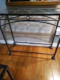 Accent table - glass