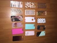 Assorted color of iphone cases Nanaimo, V9V 1H8