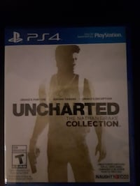 Uncharted The Nathan Drake Collection PS4 game case