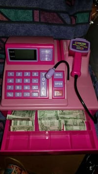 purple and pink cash register toy Capitol Heights, 20743