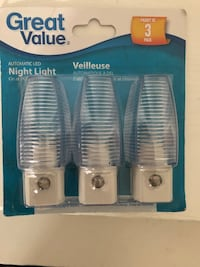 Automatic LED night lights Vaughan, L4H 0Z9