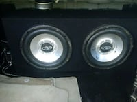 black and gray subwoofer speaker Portsmouth, 23703