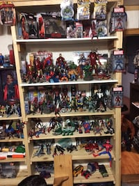 assorted hero action figures collection Tillsonburg, N4G 1A1