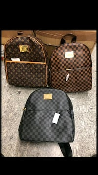 brown Louis Vuitton monogram backpack Hyattsville, 20783