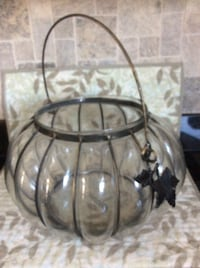 Glass/Metal Candle Holder/Bowl Toms River, 08753