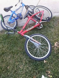 red and black BMX bike Edmonton, T5A 2A9