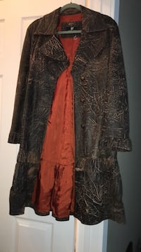 Beautiful Leather coat - paid over $1000 Cochrane, T4C