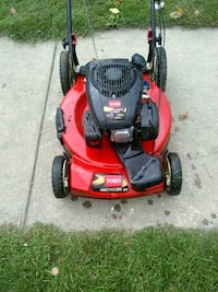 red and black Toro push mower Kendallville, 46755